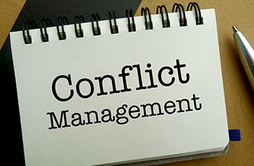 Keys to Successful Conflict Management: Look for It, Don't Run, Play Fair